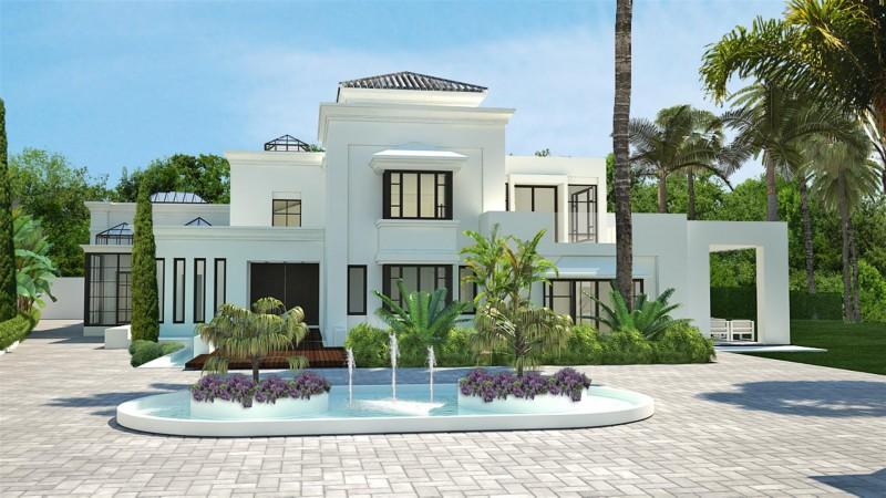 V5516 Frontline beach villa Marbella 3 (Large)