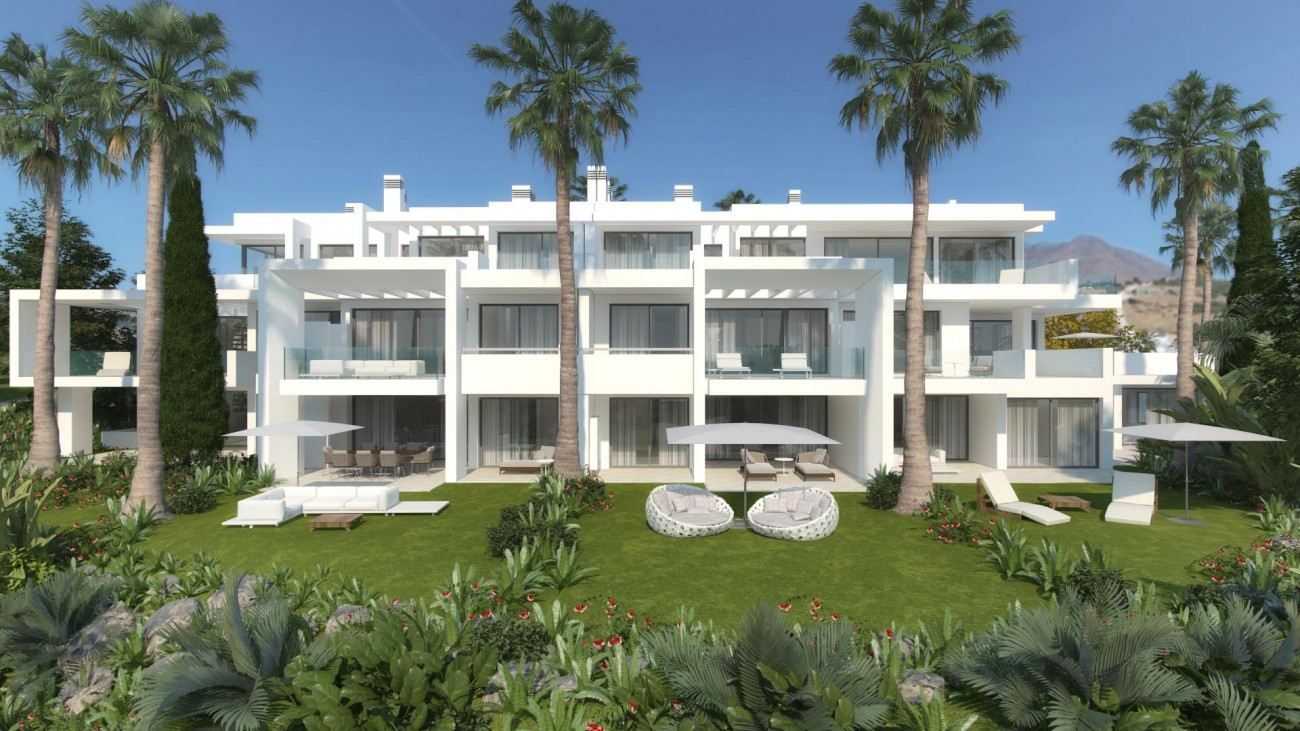 New Contemporary Development Apartments for sale Estepona Spain (3) (Large)