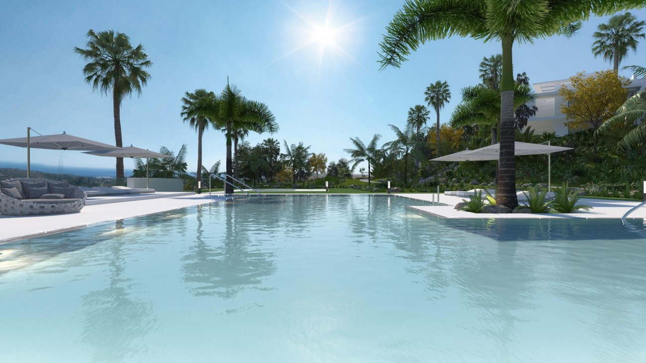 New Contemporary Development Apartments for sale Estepona Spain (6) (Large)