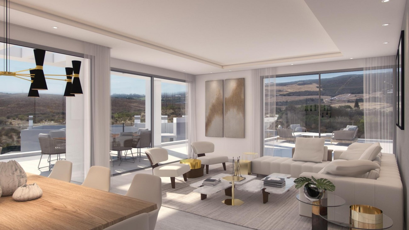 New Contemporary Development Apartments for sale Estepona Spain (7) (Large)