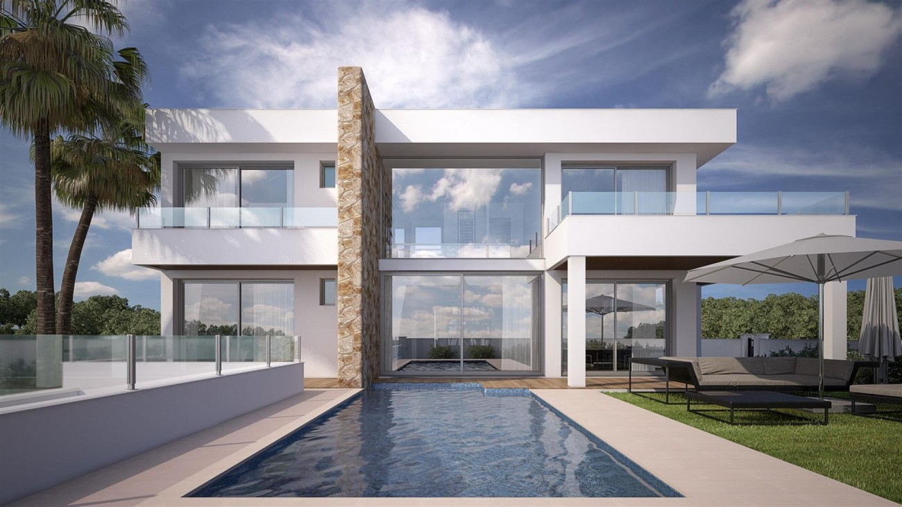 V5592 Contemporary style villa Mijas 1 (Large)