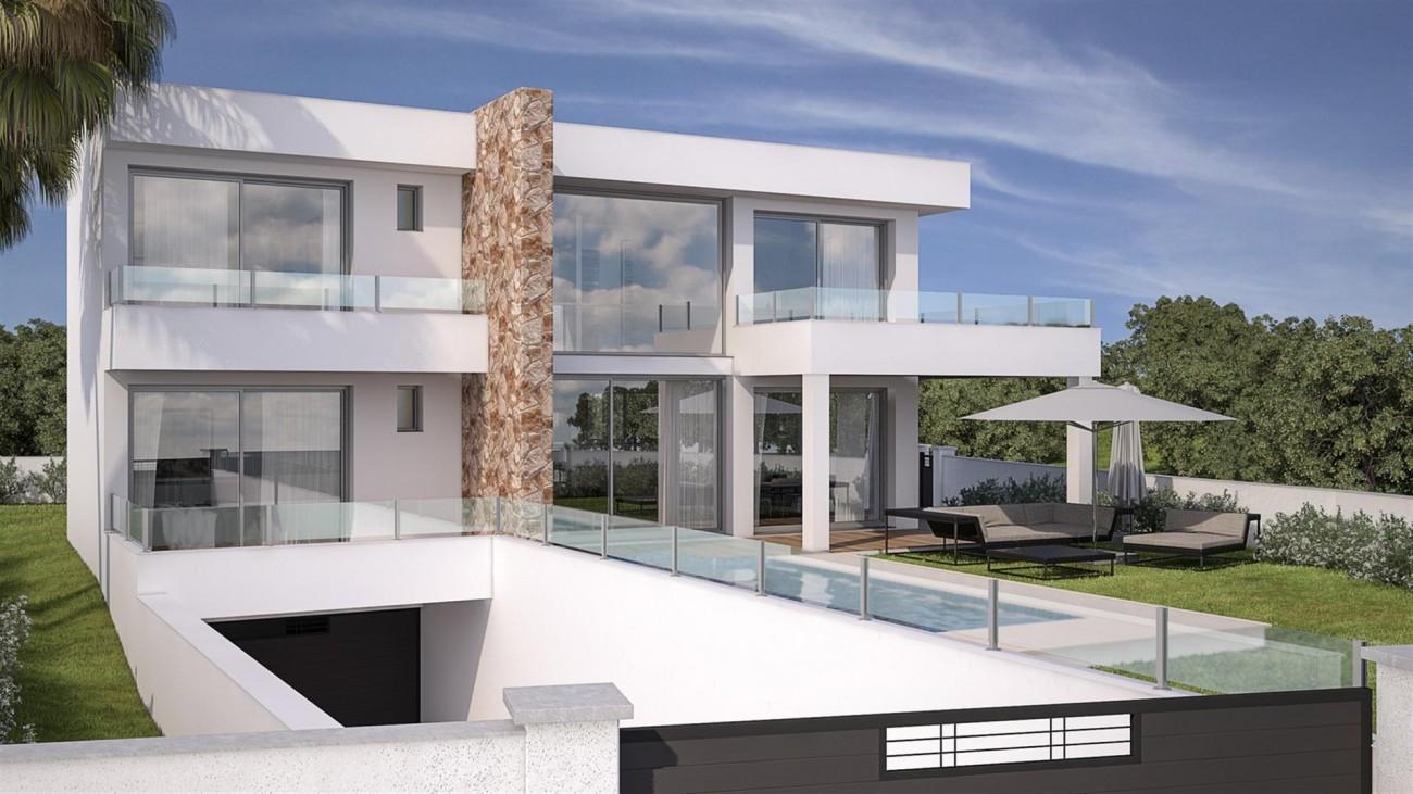 V5592 Contemporary style villa Mijas 2 (Large)