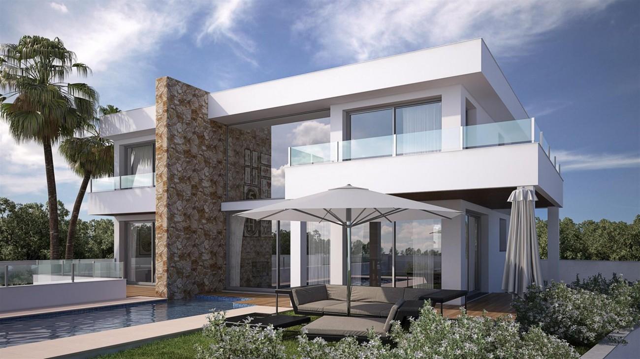 V5592 Contemporary style villa Mijas 3 (Large)