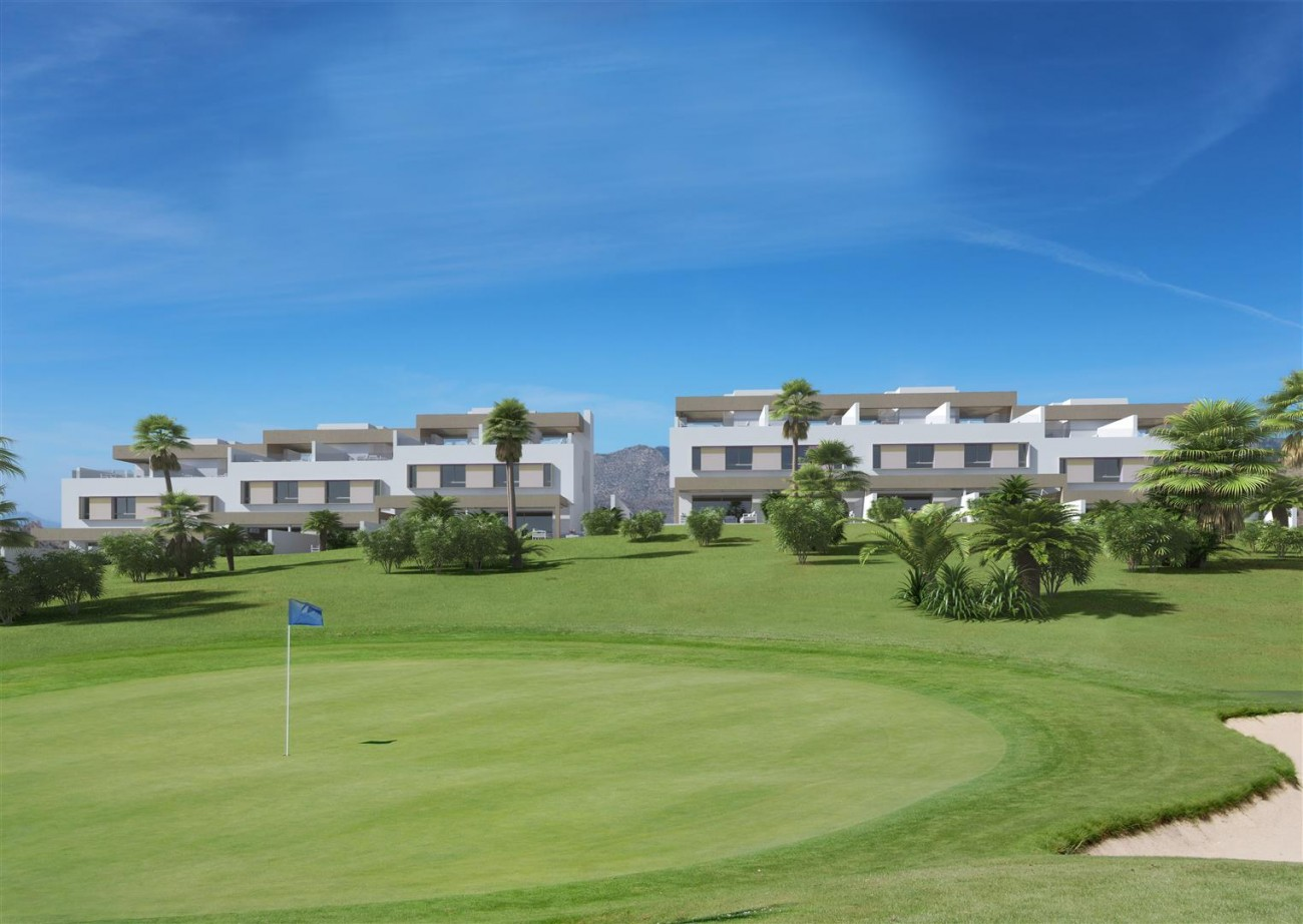 D5607 Frontline golf townhouses Mijas Golf 4 (Large)