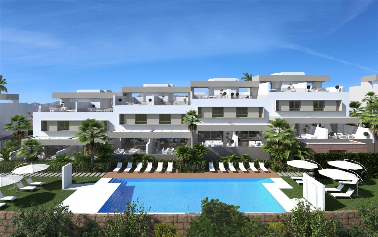 D5607 Frontline golf townhouses Mijas Golf 5 (Large)