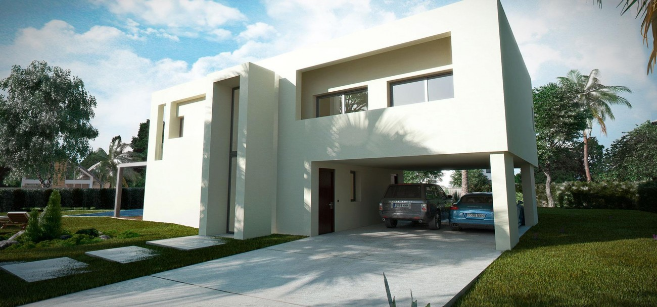 D5632 Brand new contemporary style villas 2 (Large)