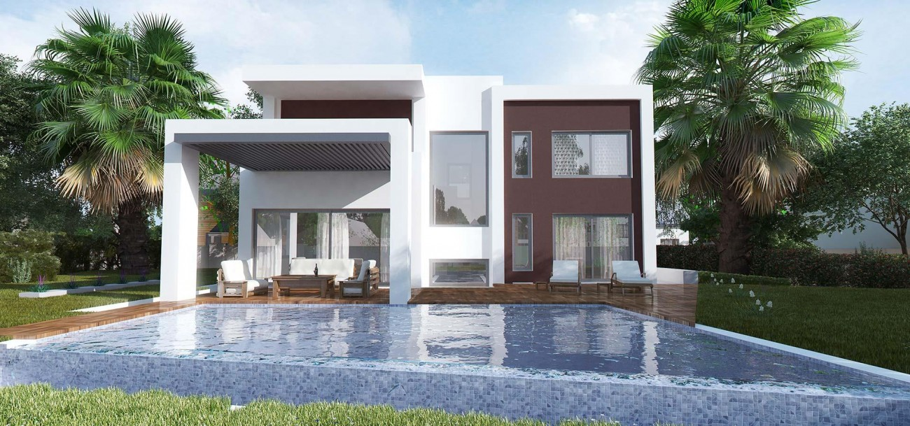 D5632 Brand new contemporary style villas 4 (Large)