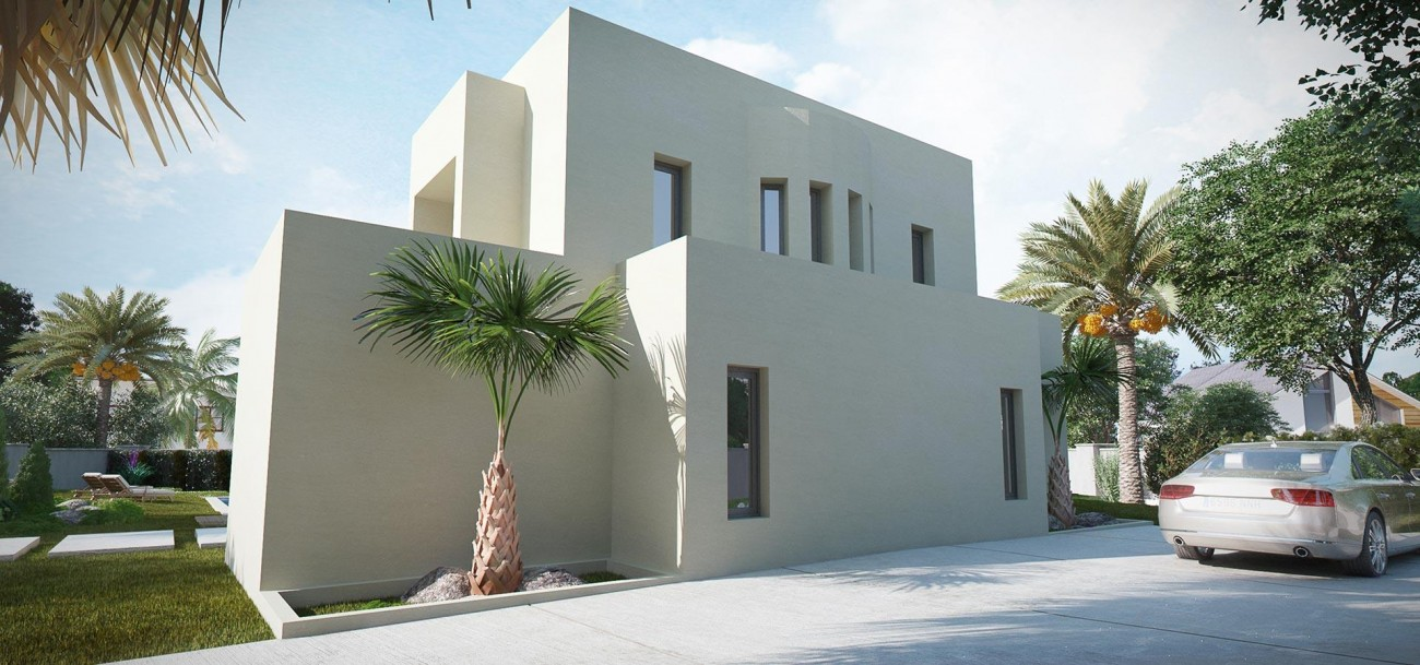 D5632 Brand new contemporary style villas 7 (Large)