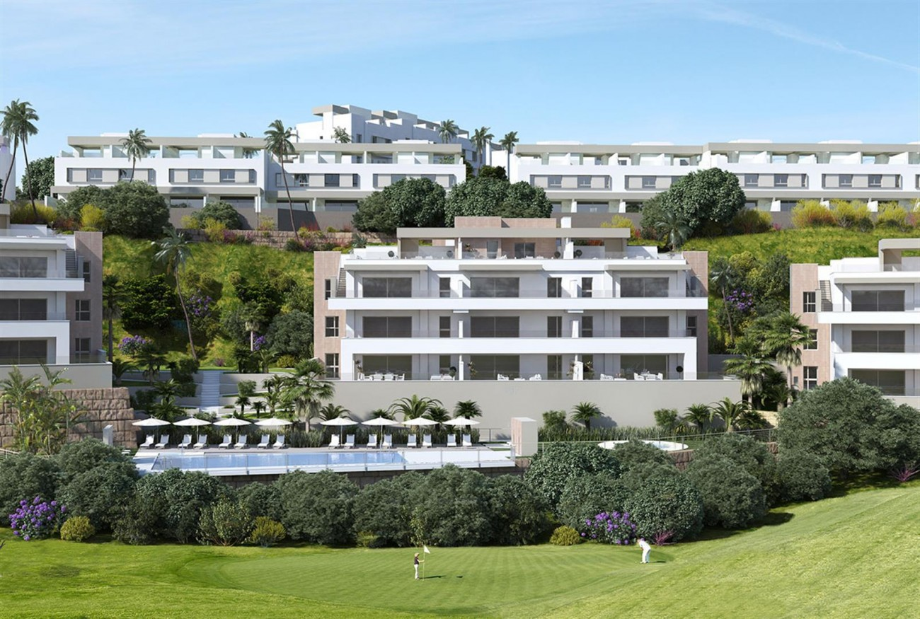 Frontline Golf Apartment for Sale Mijas Costa Spain (4) (Large)