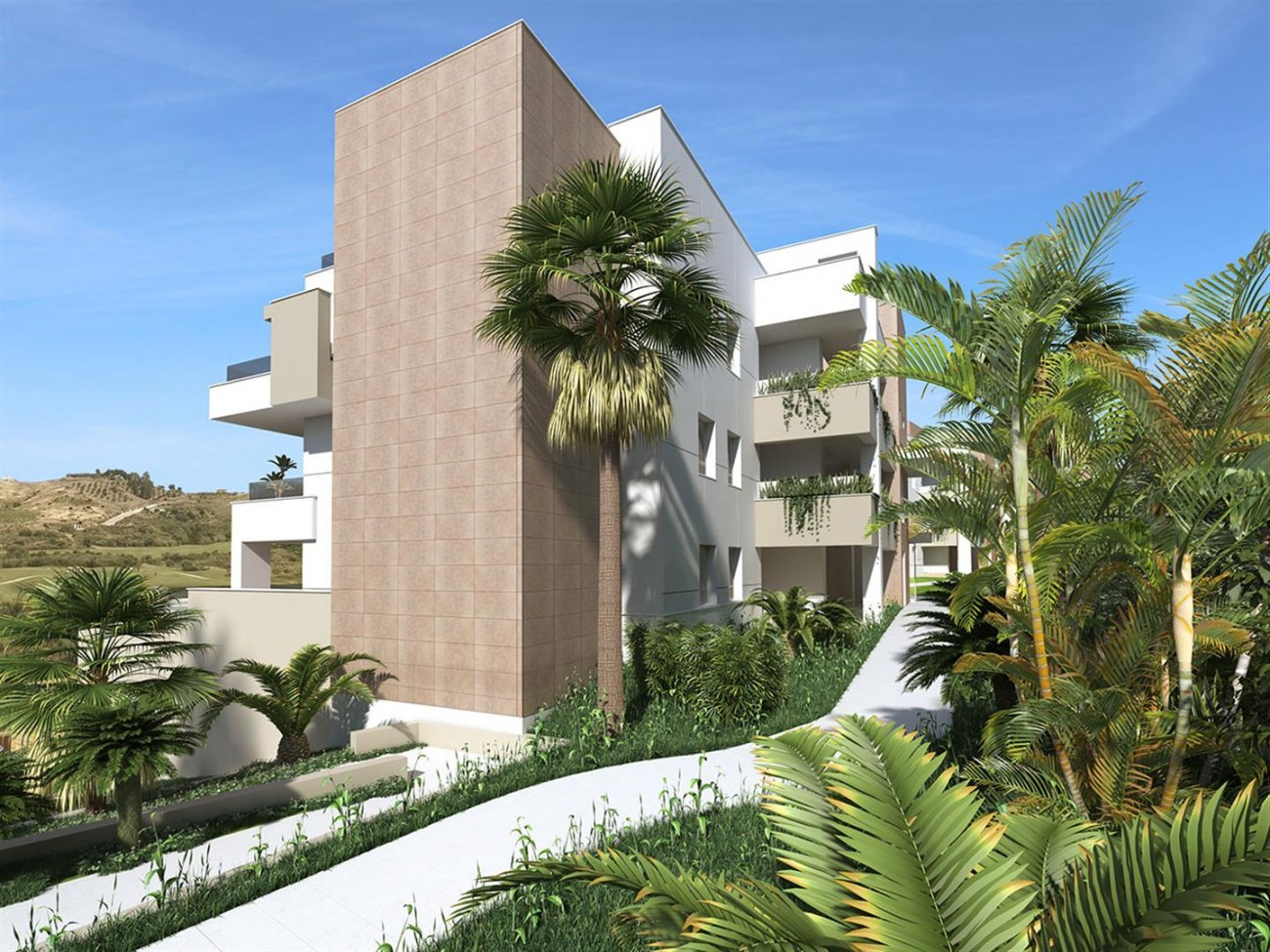 Frontline Golf Apartment for Sale Mijas Costa Spain (5) (Large)