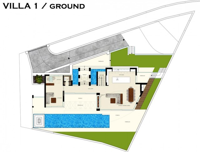 PLans VILLA1-GROUND (Large)