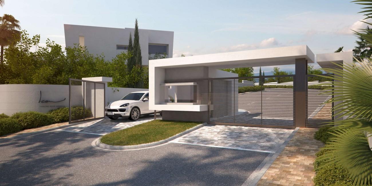 D5656 Luxury villas close to golf Marbella 9