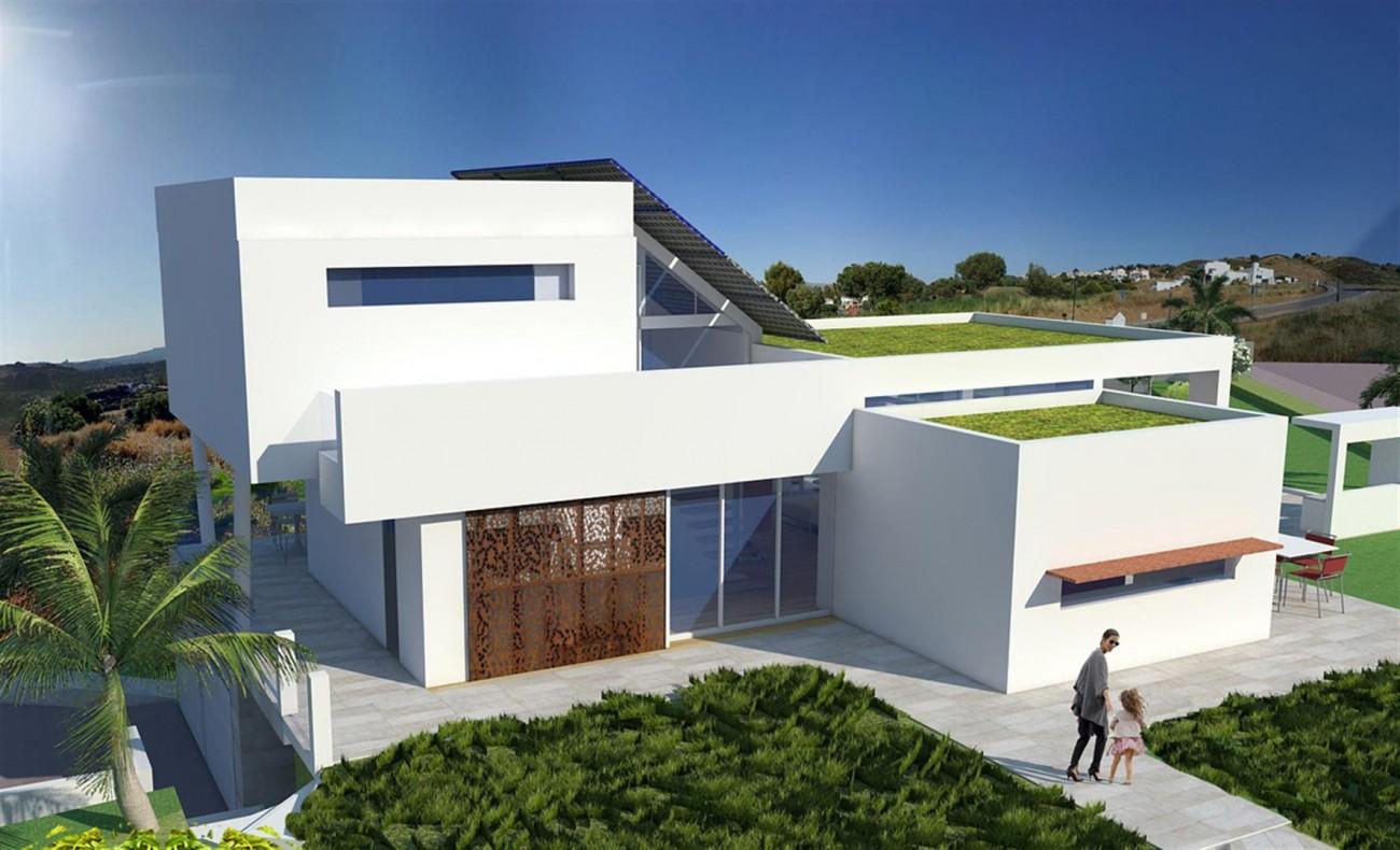 Brand New Contemporary Villas on Golf Complex for sale Mijas Costa Spain  (3)