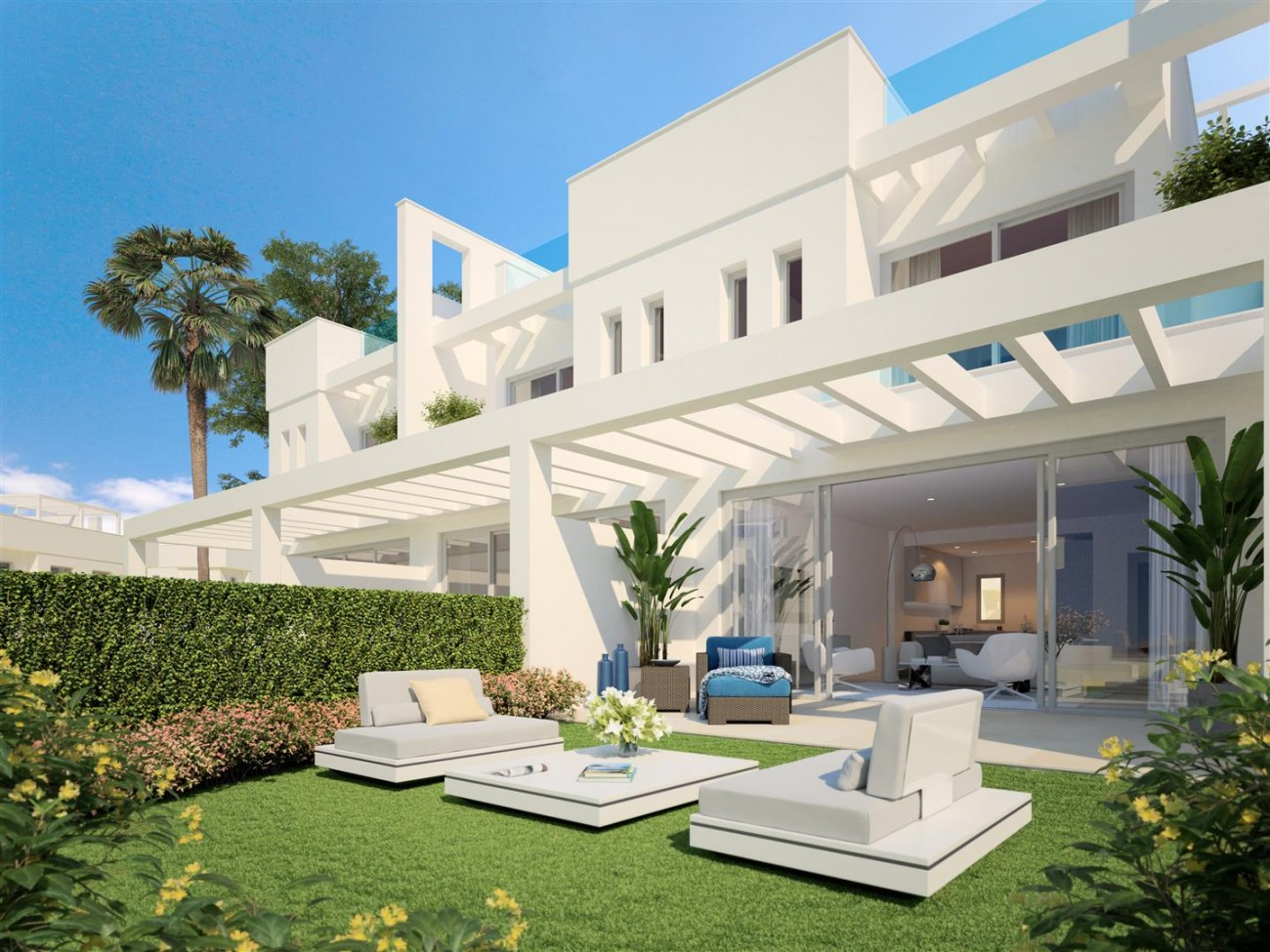 Luxury New Townhouses in Mijas Costa (2) (Large)