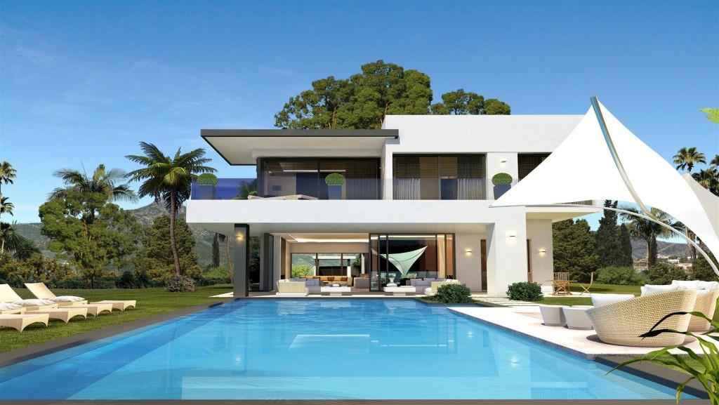 New Development Modern Villas Marbella Golden Mile Spain (4) (Large)
