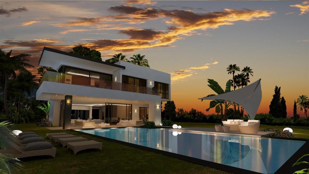 New Development Modern Villas Marbella Golden Mile Spain (15) (Large)