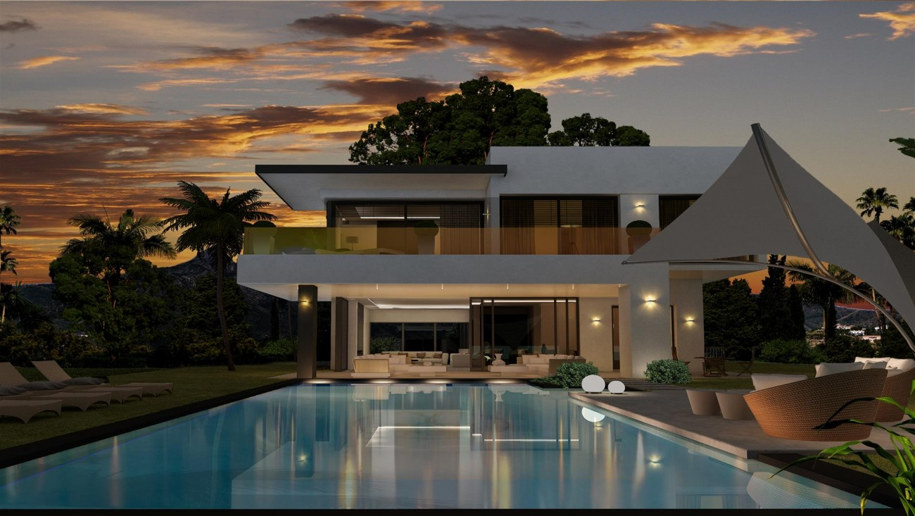 New Development Modern Villas Marbella Golden Mile Spain (16) (Large)