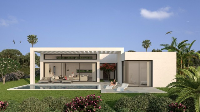 Modern Style Villas for sale in Estepona Malaga Spain (4)