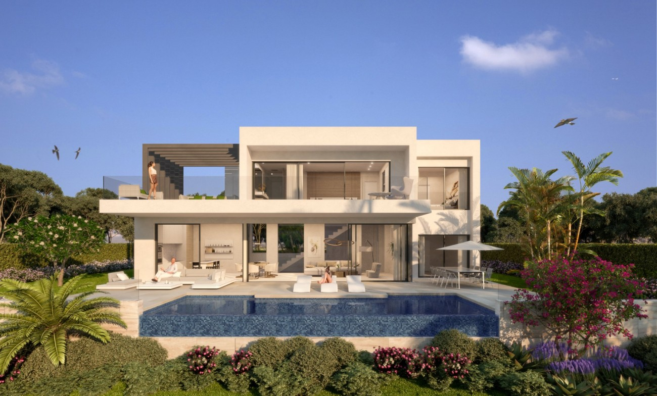 Modern Style Villas for sale in Estepona Malaga Spain (9)