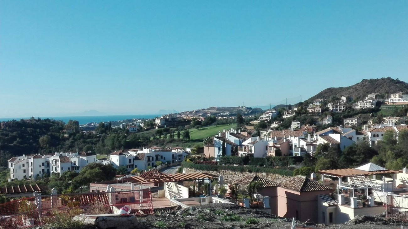 Views New Development Apartments Benahavis Spain