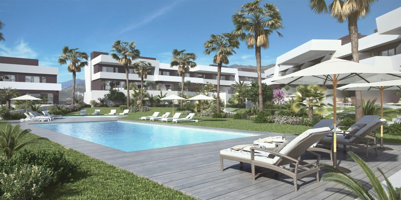 Contemporary Townhouse Project for sale La Cala de Mijas Spain (1) (Large)