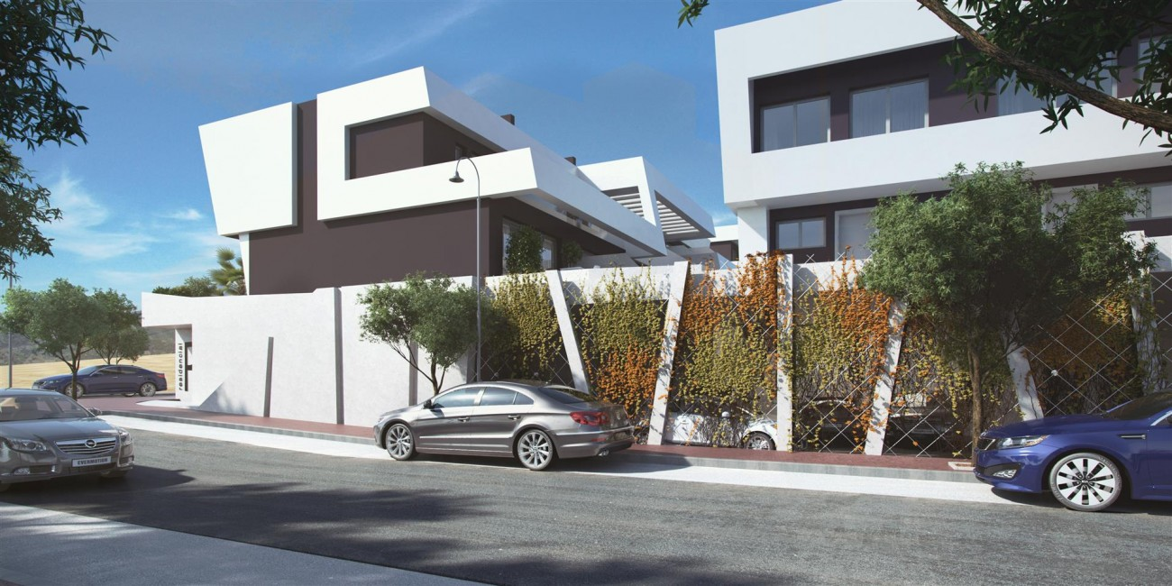 Contemporary Townhouse Project for sale La Cala de Mijas Spain (2) (Large)
