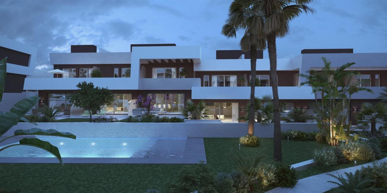 Contemporary Townhouse Project for sale La Cala de Mijas Spain (4) (Large)