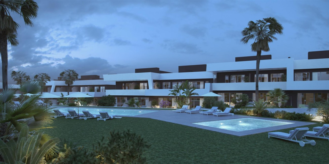 Contemporary Townhouse Project for sale La Cala de Mijas Spain (5) (Large)