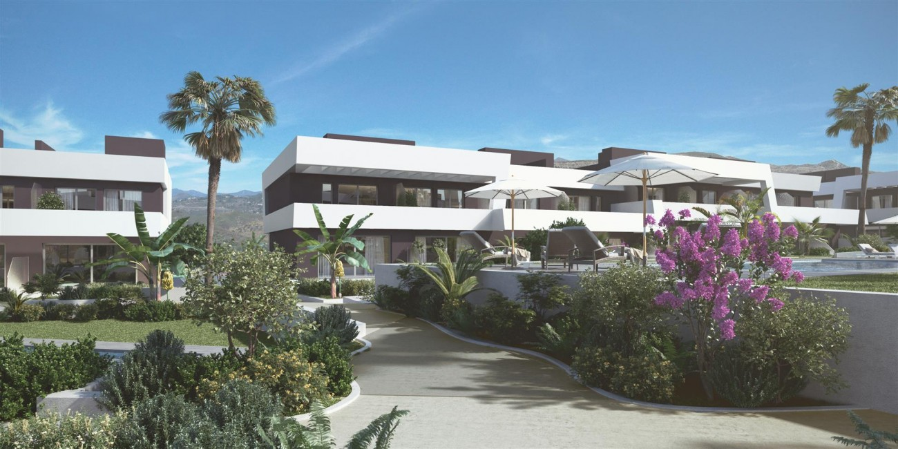 Contemporary Townhouse Project for sale La Cala de Mijas Spain (6) (Large)