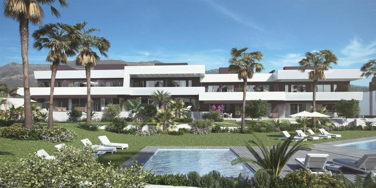 Contemporary Townhouse Project for sale La Cala de Mijas Spain (7) (Large)