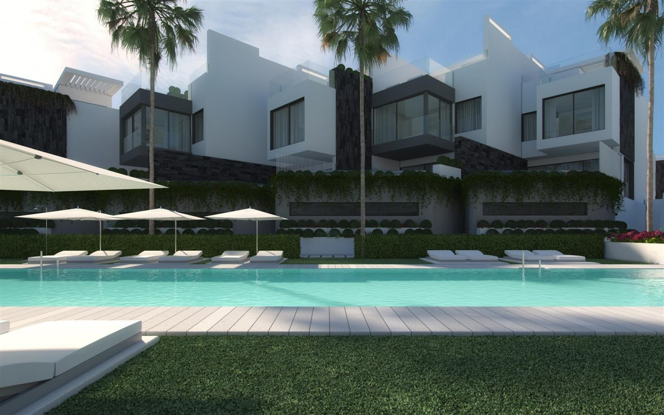 Frontline Beach New Development for sale Estepona Spain (4) (Large)