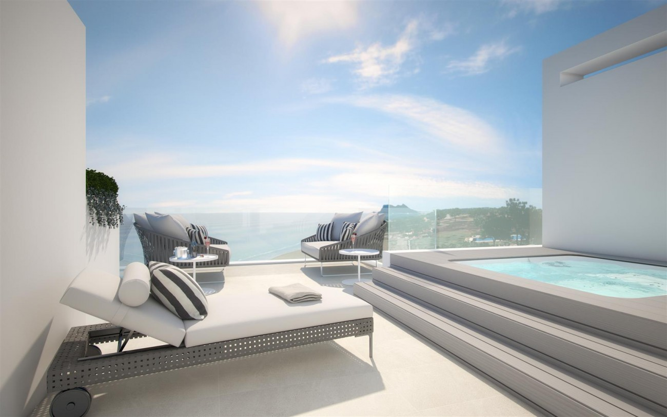 Frontline Beach New Development for sale Estepona Spain (14) (Large)