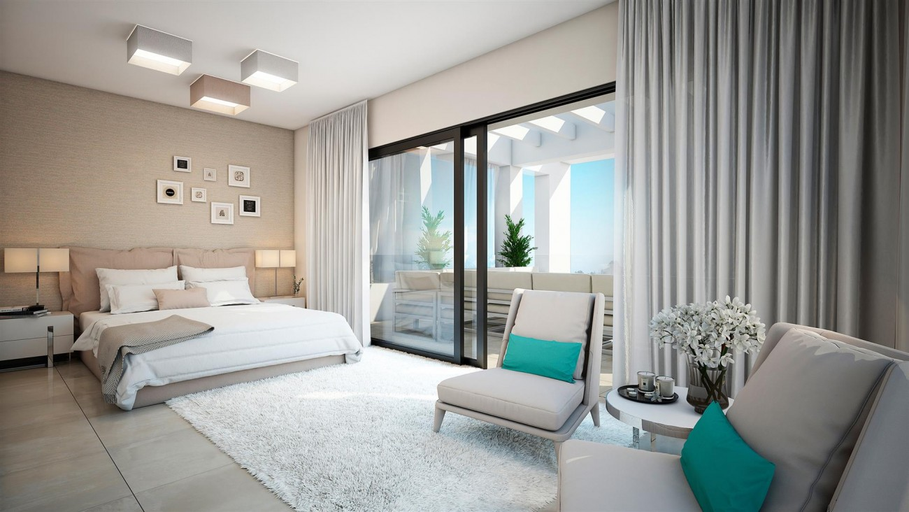 Modern Contemporary Apartments for sae close to Puerto Banus Marbella Spain (1) (Large)