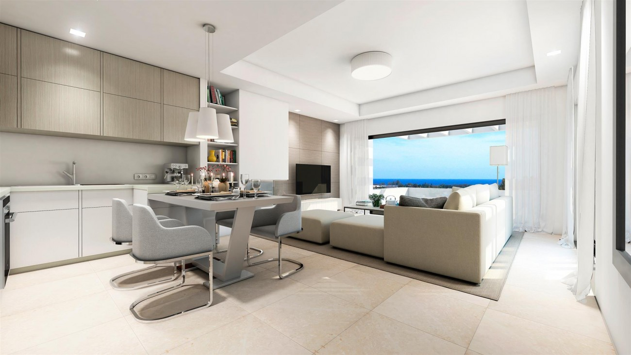 Modern Contemporary Apartments for sae close to Puerto Banus Marbella Spain (6) (Large)
