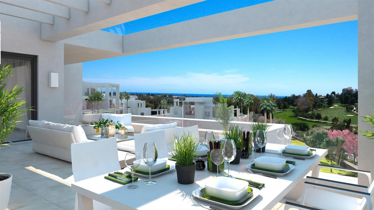 Modern Contemporary Apartments for sae close to Puerto Banus Marbella Spain (8) (Large)