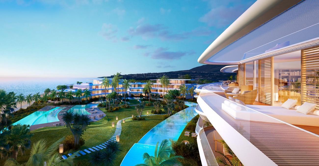 Luxury Contemporary Beachfront Apartments for sale Estepona (4) (Large)