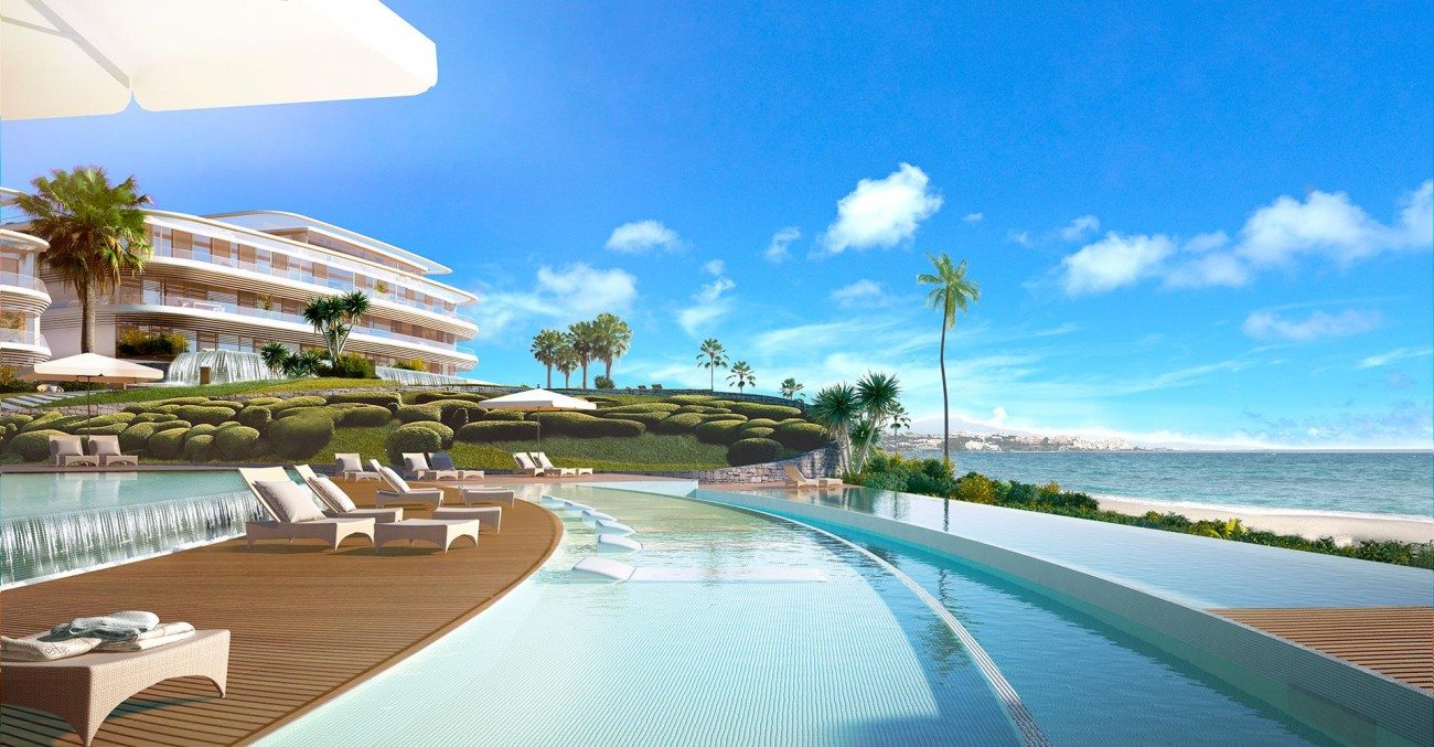 Luxury Contemporary Beachfront Apartments for sale Estepona (5) (Large)
