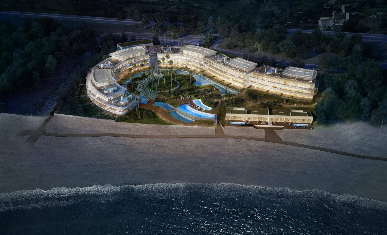 Luxury Contemporary Beachfront Apartments for sale Estepona Spain (13)