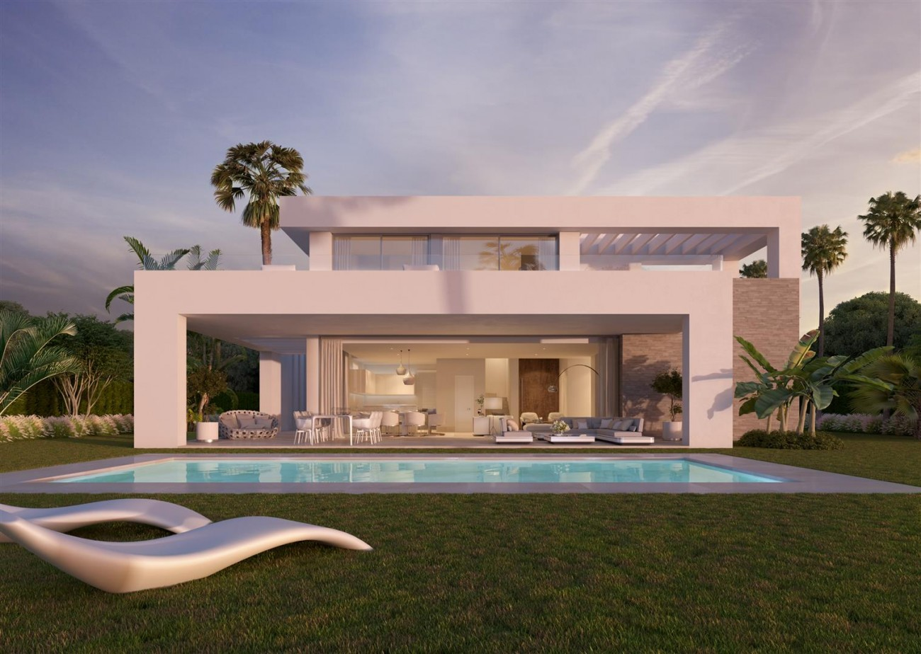 Contemporary Villas Development in Mijas Costa Spain (2) (Large)