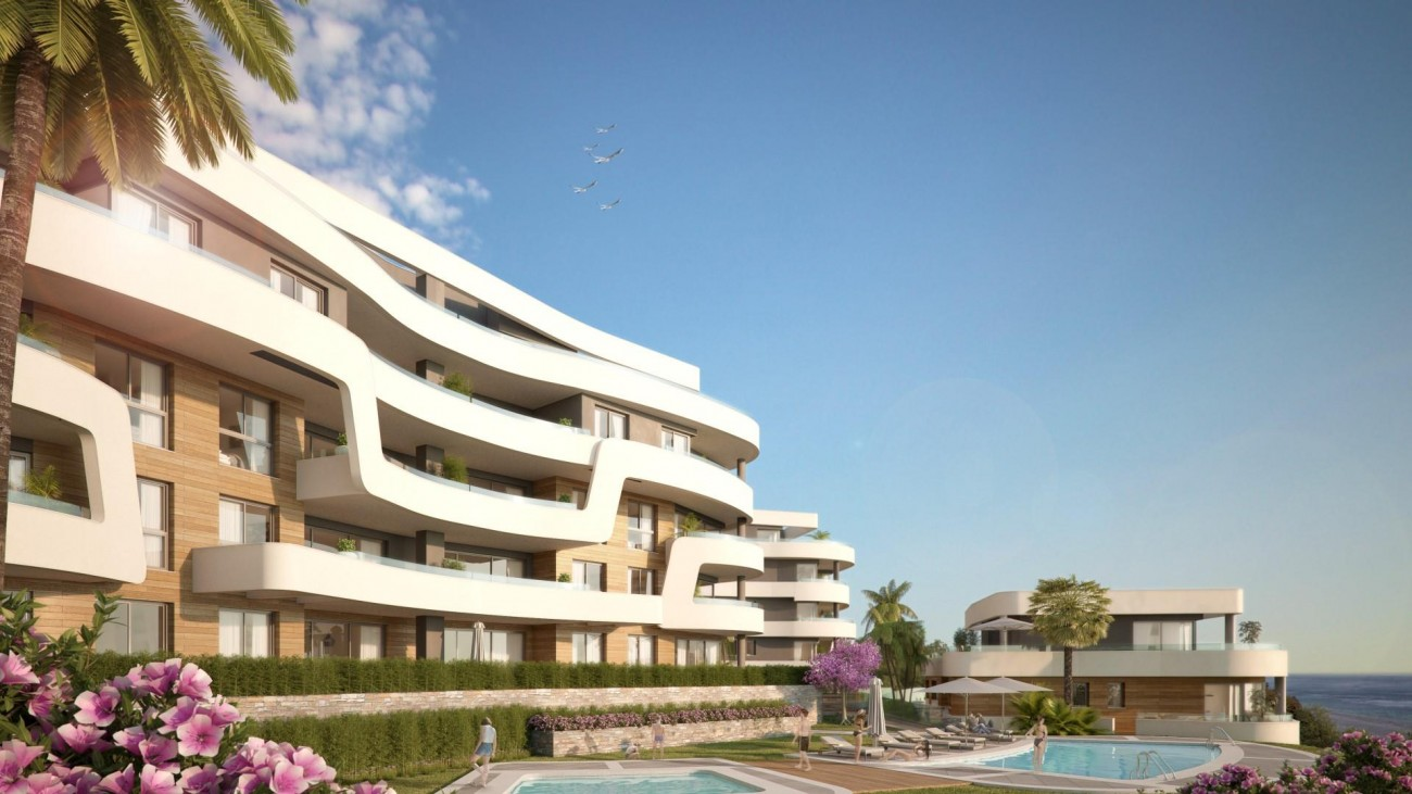 Contemporary New Development for sale Mijas Costa Spain (1) (Large)
