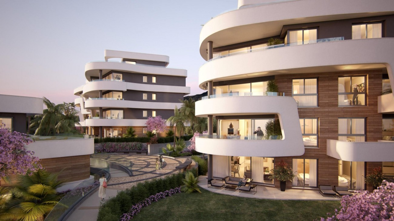 Contemporary New Development for sale Mijas Costa Spain (7) (Large)
