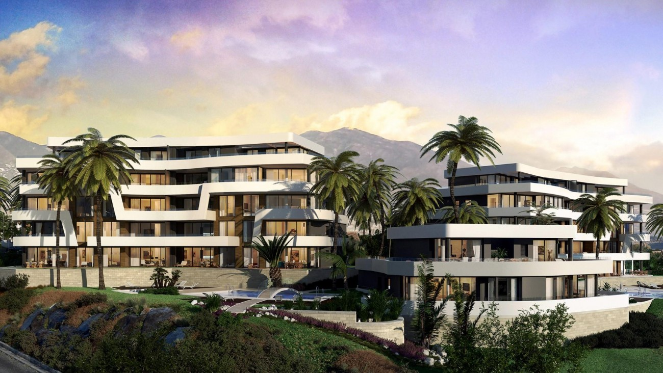 Contemporary New Development for sale Mijas Costa Spain (9) (Large)
