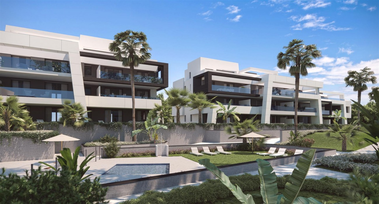 New Development of Contemporary Apartments for sale in Estepona (4) (Large)