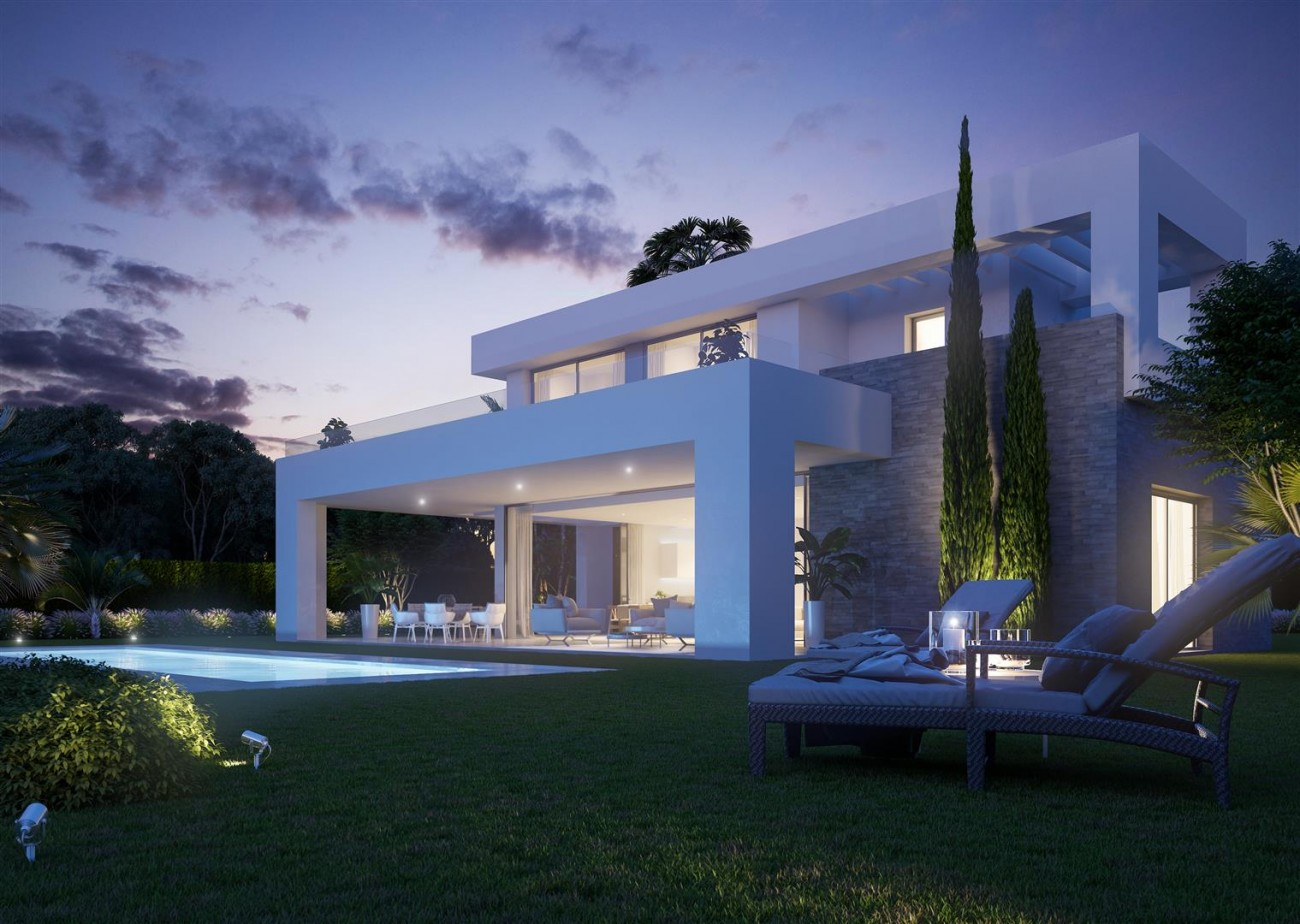 Modern Villas for sale Mijas Costa Spain (2) (Large)