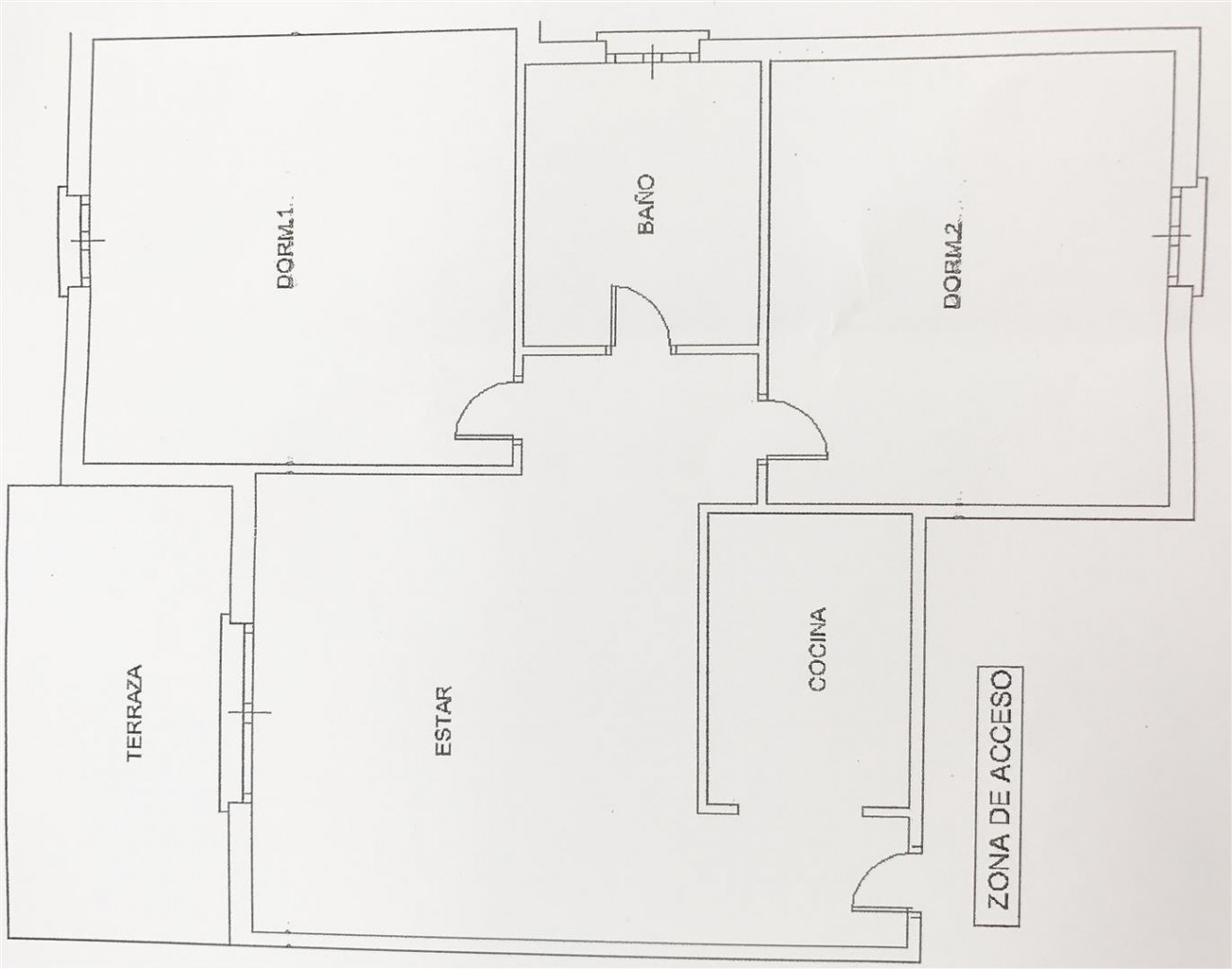 Floor Plan Apartment Banus (Large)