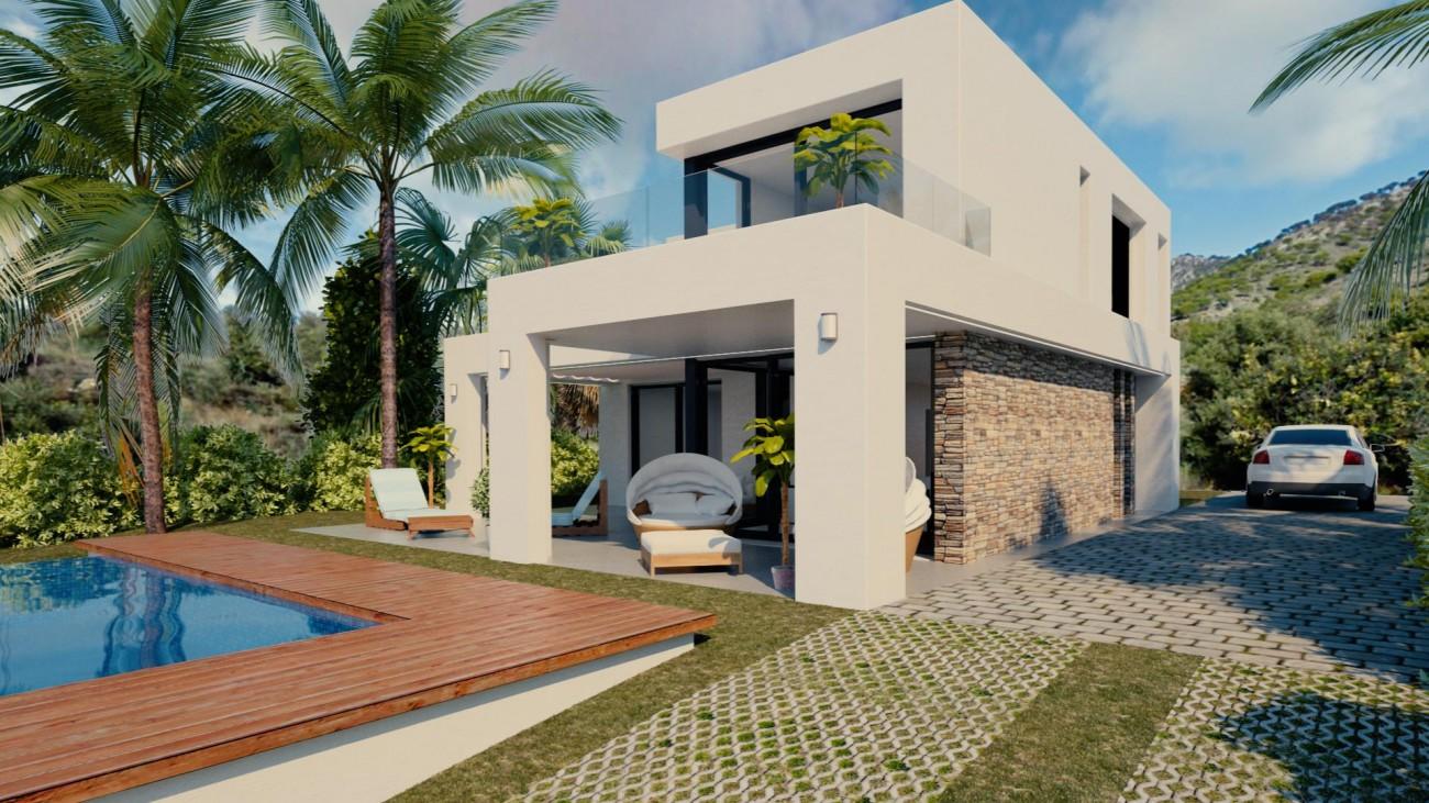 Beautiful Modern Villas in Mijas Malaga Spain (2) (Large)