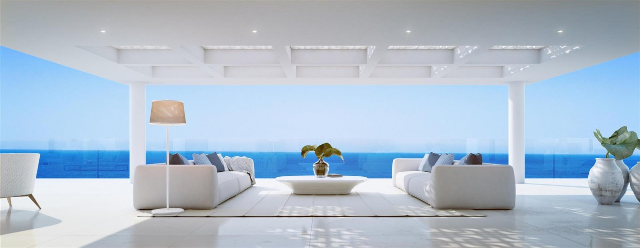Exclusive Beachfront Luxury Contemporary Apartments for sale Costa del Sol (1)