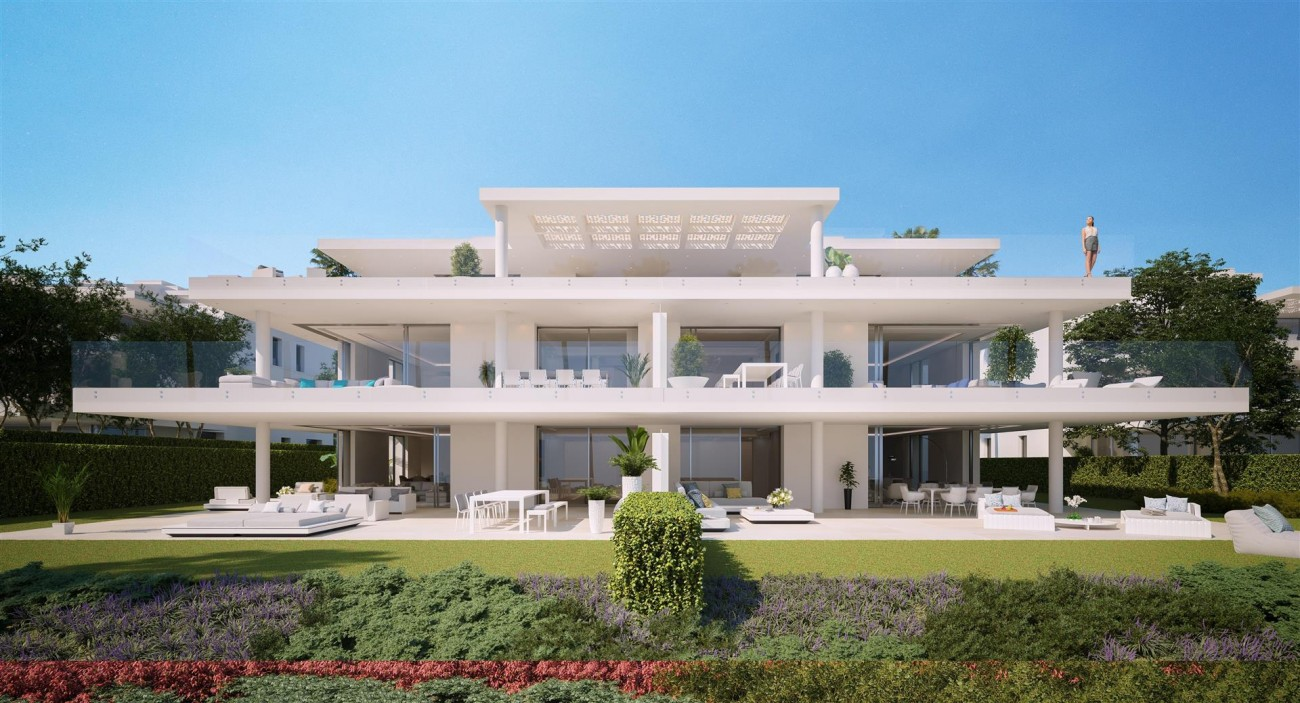Exclusive Beachfront Luxury Contemporary Apartments for sale Costa del Sol (5)