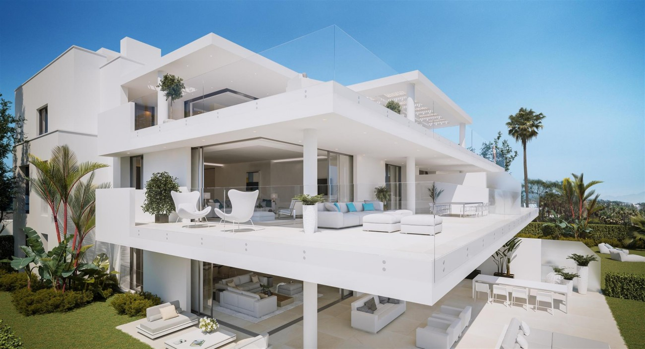 Exclusive Beachfront Luxury Contemporary Apartments for sale Costa del Sol (7)