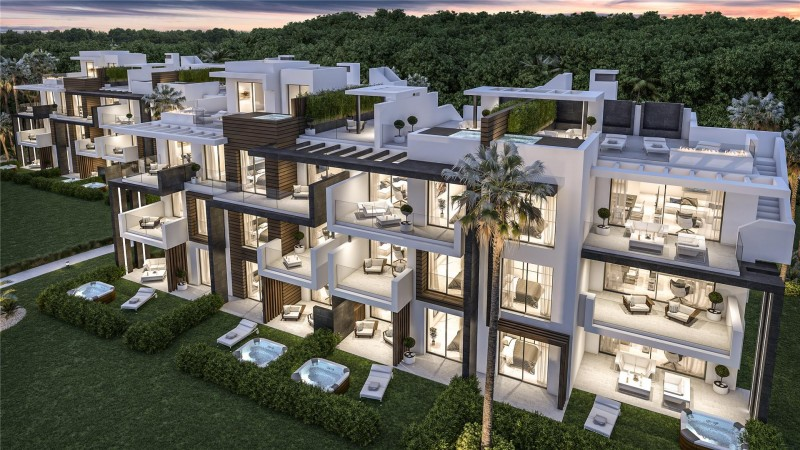 New Development Modern Apartments Estepona Malaga Spain (1)